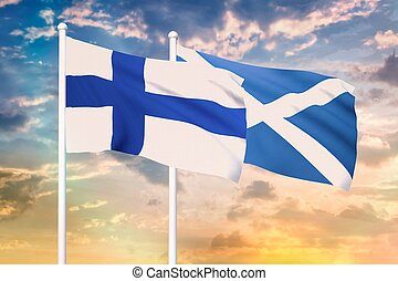 Relationship between the Finland and the Scotland