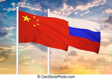 Relationship between the Russia and the China