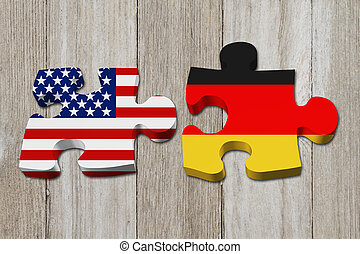 Relationship between the USA and Germany, Two puzzle pieces...