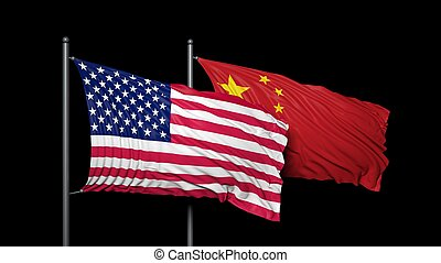 Relationship between United states of America and china