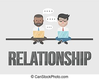 Relationship business concept