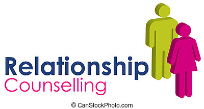 Relationship Counselling - A graphic image representing a...