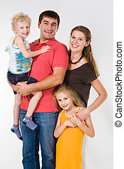 Relatives - Image of relatives: father, mother, sister and ...