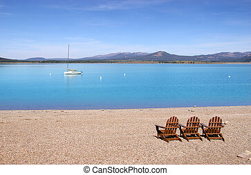 Relax at Jackson lake
