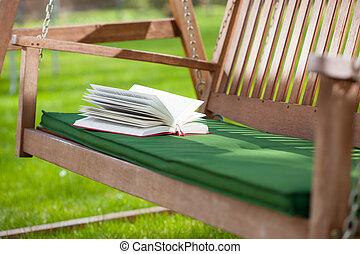 Relax in a garden