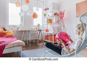 Relax in modern bedroom