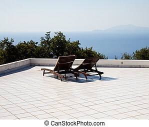 Relax - Naples Gulf - Terrace on Naples Gulf: two seats with...