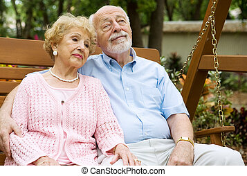relaxante, par, seniores