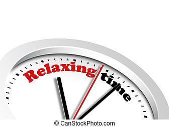 relaxante, tempo