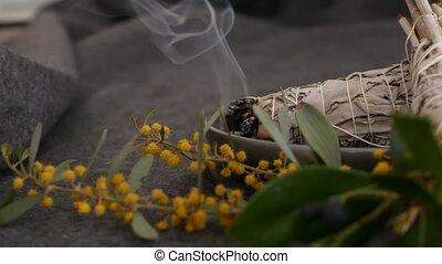 relaxation, aromatherapy., rituels, occulte, ésotérique, ...