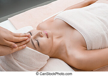 Relaxation massage in Thai spa