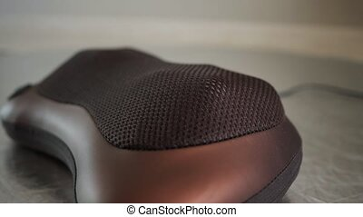 Relaxation Massage Pillow Vibrator Electric, close-up