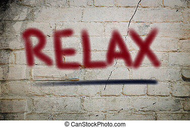 relaxe, conceito