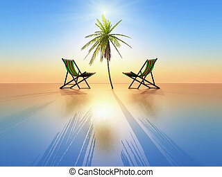 relaxing - an idea of paradise