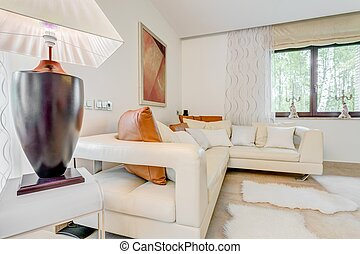 Relaxing space in a residence - Photo of space meant for...