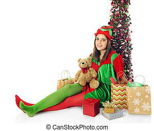 Relaxing Teen Elf