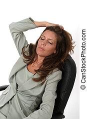 Relaxing Woman 1
