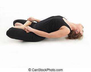 relaxion, postura yoga