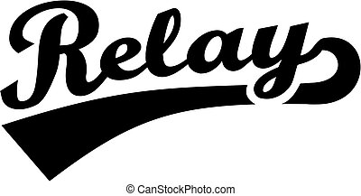 Relay retro word