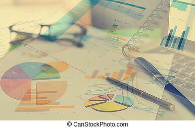 relazione, concetto, affari