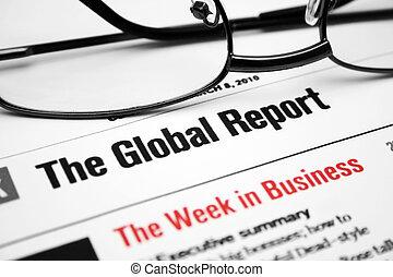 relazione, globale