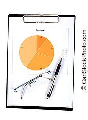 relazione, grafici, tabelle
