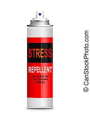 relevo stress, concept.