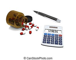 relevo stress, pílulas