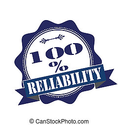 reliability stamp - reliability grunge stamp with on vector...