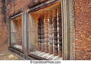 Relics at Angkor, Cambodia
