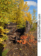 Relics of the Quincy Copper Mine