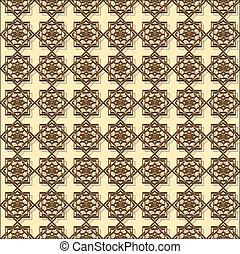 Relief oriental (eastern) pattern