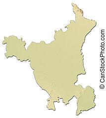Karta Indien Thailand.Karta Indien Lattnad Detaljerad Karta Alla Stor Indien Hogt