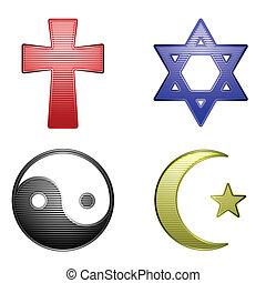 religião, ícones