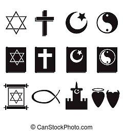 religión, iconos
