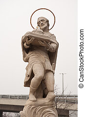 religiös staty, bratislava