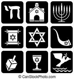 religiöses, judentum, zeichen & schilder