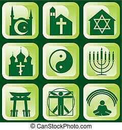 religiöses, zeichen & schilder