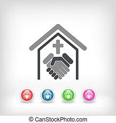 religiøs, forbindelsen