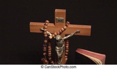 religie, beeldmateriaal, -, liggen
