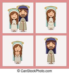 religieux, conception