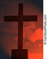 religieux, croix