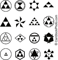 religieux, divers, symboles