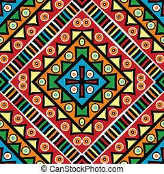 religieux, texture, motifs, ethnique