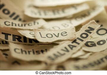 Religion Concept - Love