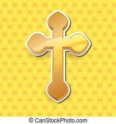 Religion cross design