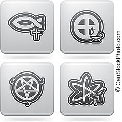 Religion is the adherence to codified beliefs and rituals,...