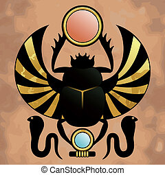 Religion of Ancient Egypt - Scarab in ancient Egypt. The...