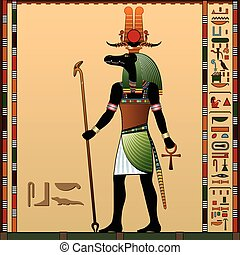 Sebek - Religion of Ancient Egypt. Sebek - Ancient Egyptian...