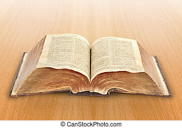 religion. old Bible - religion concept. Bible - very old...